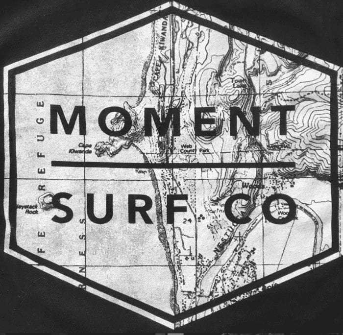 Custom printed shirts for surf shop.