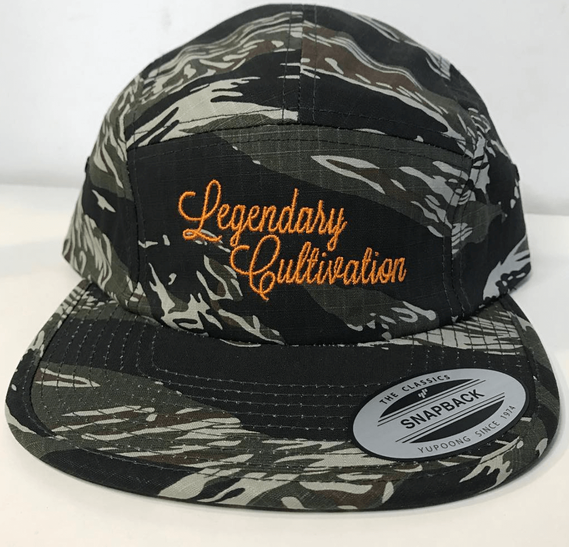 Embroidered Camo Hats