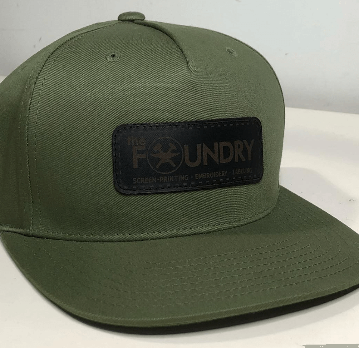 Custom Leather Hat Patches