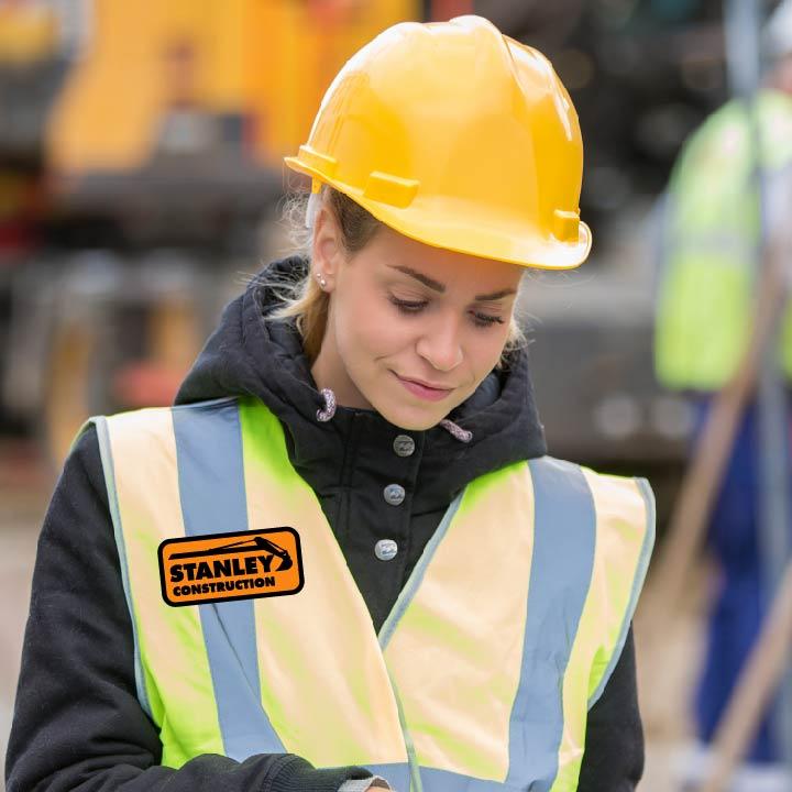 High Vis Patch Vest Work Wear