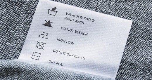 Sewn Care Label