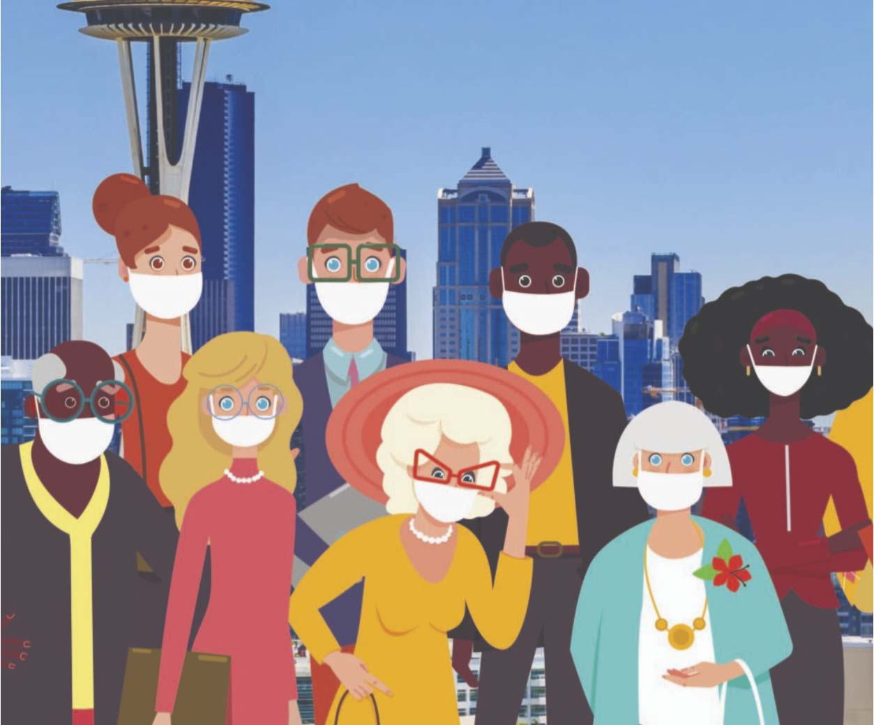 Custom Face Masks Seattle