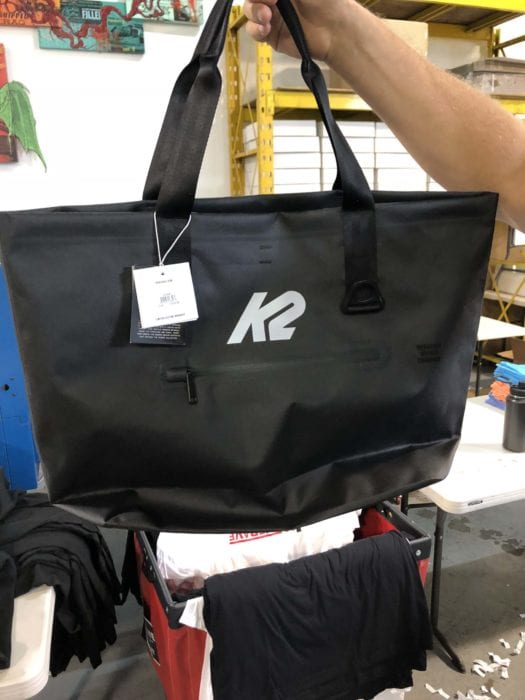 Custom Totes with Reflective Vinyl