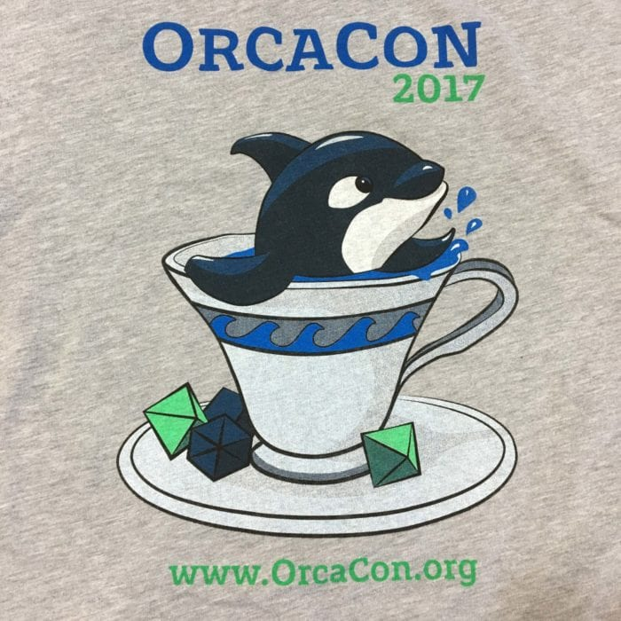 Custom tees for conference