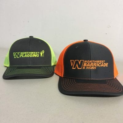 High Vis Custom Hats